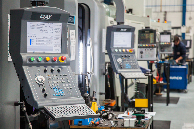 CNC Machining Centres at RP Technologies