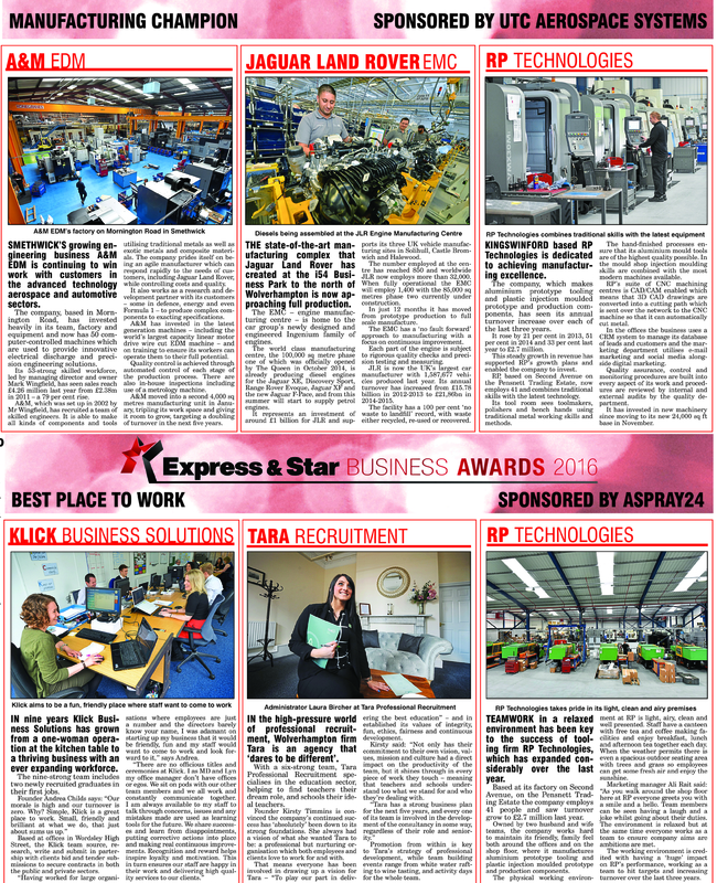 Express & Star Press Clippings