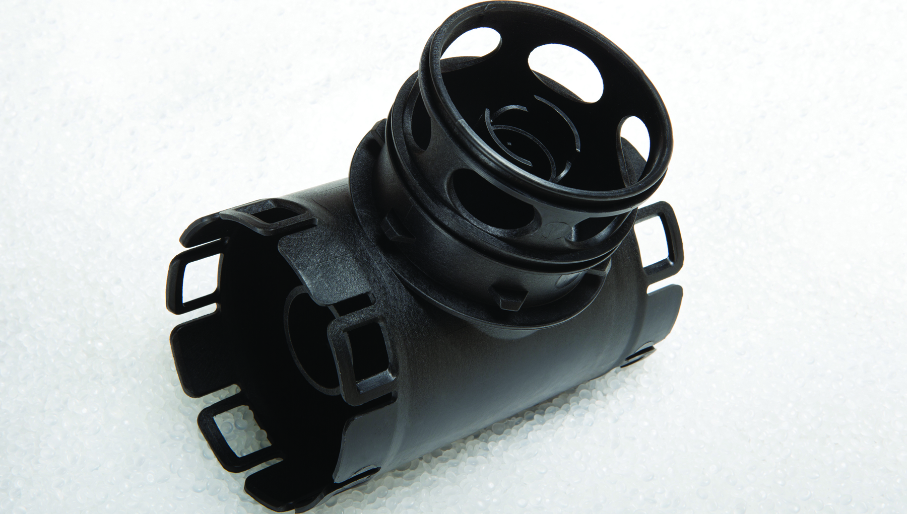 Injection moulded part
