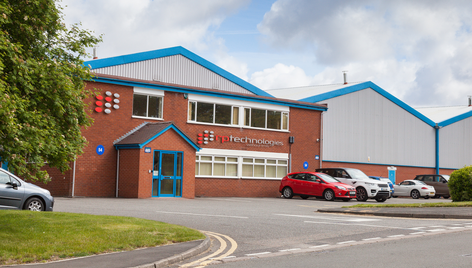 RP Technologies, UK headquarters